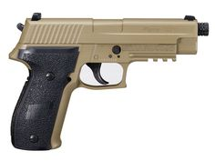 Police and law enforcement units around the world use SIG firearms and the most popular duty pistol are the Sig Sauer P226. It is popular that's why Sig chose it to be one of the first models to be adapted for the airgun market. It also gives the ability to practice your shooting skills without having to make a trip to the range. You can choose from Black or Flat Dark Earth color.  #AirGunDepot #SigSauer  http://www.airgundepot.com/sig-sauer-p226.html
