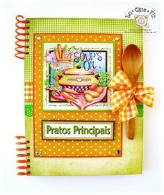 Livro de Receitas - A5  http://arteseretalhos.blogs.sapo.pt/
