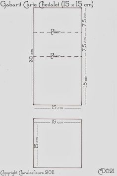 Claralesfleurs - Gabarit de carte chevalet - CD021