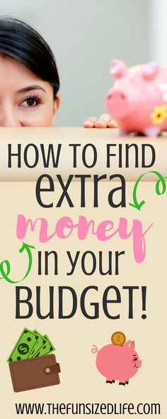 There are so many tricks to finding money you didn't even know you had! #extracash #makemoney #budget #budgetingtips #budgeting