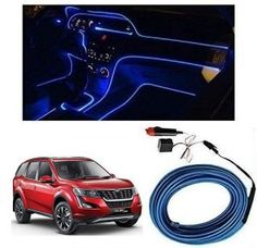 Mahindra XUV 500 2018 Car Dashboard 5M Car Interior Light BLUE Price-400/- Suzuki Alto, Suzuki Swift, Car Accessories List, Elantra Car, Car Body Cover, Tucson Car, Police Lights, Interiors, Chevrolet Aveo