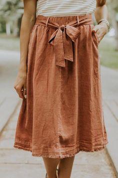 Bettina Detail Skirt | ROOLEE
