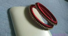 Meron silk thread bangle