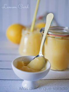 Más dulce que salado: Lemon Curd