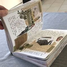 scrapbook travel idea From - art - Art Journal Pages, Album Journal, Bullet Journal Ideas Pages, Journal Diary, Scrapbook Journal, Journal Notebook, Bullet Journal Inspiration, Junk Journal, Photo Journal