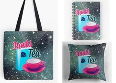 With Love for Books: Books & Tea Tote Bag, Pillow and Notebook Giveaway... http://www.withloveforbooks.com/2017/05/books-tea-tote-bag-pillow-and-notebook.html