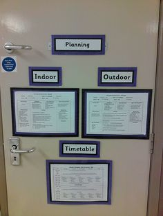 Good way to display planning for all teachers and ta's to see EYFS Reggio Classroom, Classroom Layout, Classroom Organisation, New Classroom, Classroom Hacks, Organisation Ideas, Outdoor Classroom, Classroom Management, School Displays
