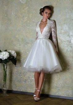 Cute Wedding Reception Dresses