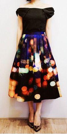 starry night skirt