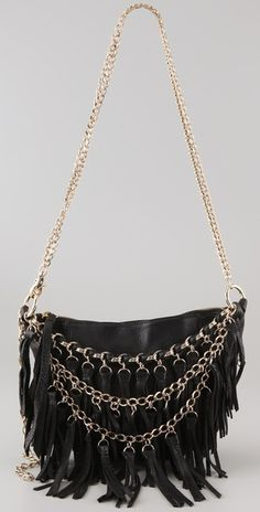 Tassel Fringe Cross Body Bag
