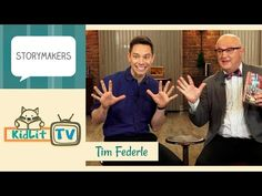 Talking and Tap Dancing with Tim Federle! - KidLit.TV