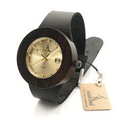 BOBO BIRD C03 Wooden Bamboo Watch with Genuine Brown Leather Strap Quartz Analog Calendar Quality Miyota Movement With Gift Box - Online Shopping for Watches