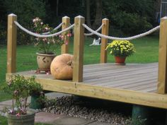 rope railing for deck - Yahoo Image Search Results