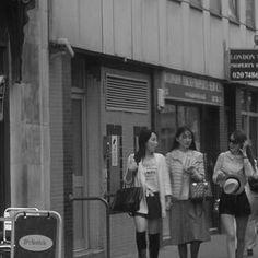 "Tile 5 of 6 - Journal 3rd June 2013- Jubilee Joy ""The Girls are Back in Town!""- Big Love Sx #onedailyfoto #tiles #streetphotography #streetportraits #storytelling #people #portfolio #people #urbanphotography #instadaily #creatocracy www.onedailyfoto.org"