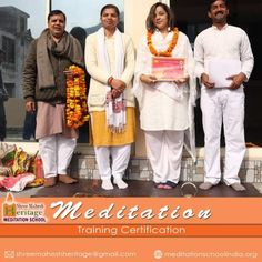 At #Meditation_School #India, Shree Mahesh Heritage, The first Meditation School of #Rishikesh, you will #learn and #experience the best passive and active Meditation techniques rooted in #ancient Indian #Vedic system of #health, healing, well-being, and #self-realization.