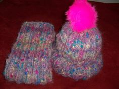 Hand Knitted Hat and Scarf Set. by Jstitchuk on Etsy