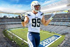 e52fc998 65 Best Los Angeles Chargers images in 2017   San diego chargers ...