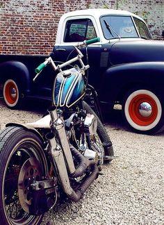 moto e caminhonete a combinação perfeita
