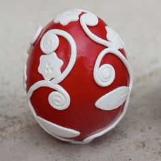 Real Easter Hens Egg covered in Polymer Clay- Made to Order by TTE Designs on Etsy
