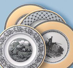 Audun Ferme by Villeroy and Boch. our wedding china :)