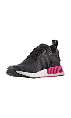 be96716003608 adidas NMD Primeknit Shock Pink Release Date. The adidas NMD Primeknit  features a Core Black Primeknit upper with Pink on the White Boost for  Spring