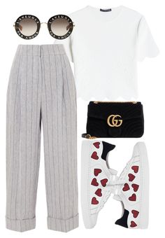 """Untitled #328"" by streetstyle21 ❤ liked on Polyvore featuring Alexander McQueen, Brunello Cucinelli, Steffen Schraut and Gucci"