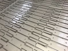 CNC punched stainless steel sheet metal components http://www.vandf.co.uk/blog/cnc-punching-stainless-steel-sheet-metal-components/
