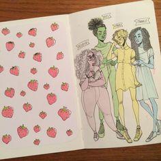 new sketchbook. page