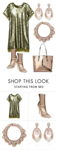 """""""high shine"""" by aqualyra ❤ liked on Polyvore featuring Elvi, Steve Madden, Mignonne Gavigan, Hueb and Urban Expressions"""