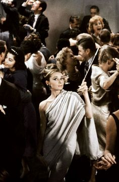 Breakfast at Tiffany's- the party dance scene