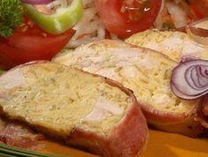 7 őzgerincben sült rakott hús, amit kár lenne kihagyni | Mindmegette.hu Meat Recipes, Cake Recipes, Bacon, Pork, Food And Drink, Lunch, Chicken, Dinner, Breakfast