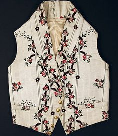 Waistcoat  Date: early 19th century Culture: British