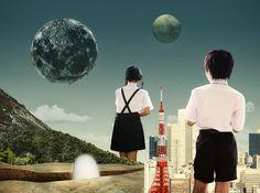 1Q84 - Julien Pacaud • Illustration • Perpendicular Dreams