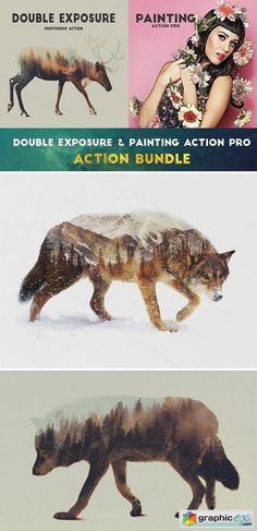 Exposure & Painting Action Bundle