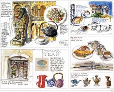 Here's the next interview with the contributors to my new book An Illustrated Journey: Inspiration From the Private Art Journals of Traveling Artists, Illustrators and Designers Liz Steel is …