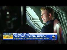 Captain America: Civil War - Full Cast Interview (Behind The Scenes/GMA)