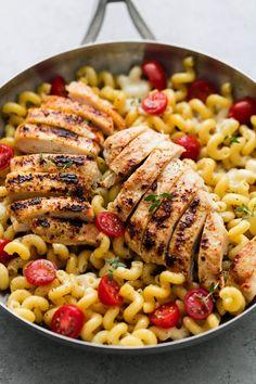 Caprese Chicken Pasta