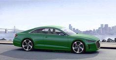 Next Generation Audi A5 render - TTS-Freunde.de - alemã Audi Blog