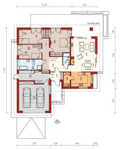 If you planning to have small house , you must see this Single storey inspirational house + plans Bungalow House Plans, Closet Designs, Marceline, Planer, My House, Gazebo, Floor Plans, House Design, How To Plan