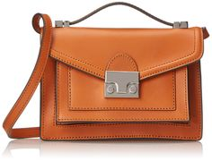Amazon.com: LOEFFLER RANDALL Mini Rider Cross Body Bag, Cuoio, One Size: Clothing