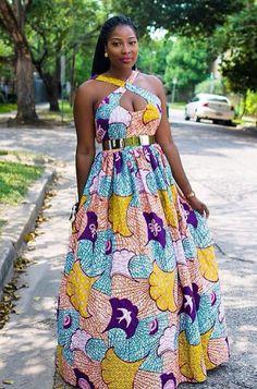 Pinterest.     Igot_yourmom                                      Nice Ankara dress