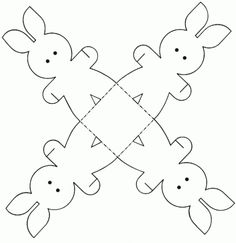 Patron panier lapin de Pâques {tuto DIY}