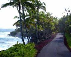 Red Road on the big island,Hawaii