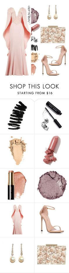 """""""Elegancia en Una Sirena"""" by crissycortez ❤ liked on Polyvore featuring Bobbi Brown Cosmetics, LAQA & Co., Chantecaille, Mikael D, Stuart Weitzman and Phase Eight"""
