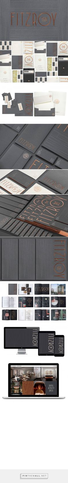 The Fitzroy Branding by Kevin Cantrell on Behance