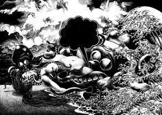 蛸と海女 Shunga by Shohei Otomo