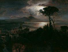Gulf of Naples by Oswald Achenbach (1827 – 1905)