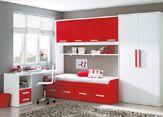 Como amueblar un dormitorio juvenil: Hogar de estilo de Camobel Box Room Bedroom Ideas, Bedroom Furniture Inspiration, Small Room Bedroom, Small Rooms, Kids Bedroom, Bedroom Decor, Modern Small House Design, Small Room Design, Kids Room Design