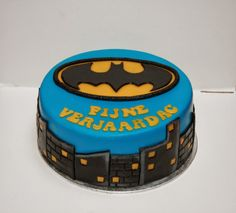 Juffrouw Taart: Batman taart