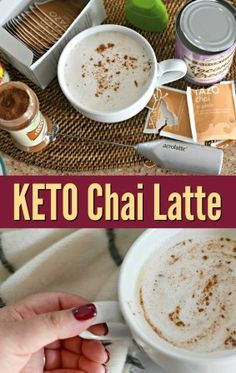 Chai tea is a bold, flavorful black tea infused with spiced flavors. Make your own keto Starbucks chai tea latte to enjoy on a chilly day. Low Carb Drinks, Healthy Drinks, Healthy Eating, Diet Drinks, Keto Drink, Apple Smoothies, Ketogenic Recipes, Ketogenic Diet, Keto Snacks